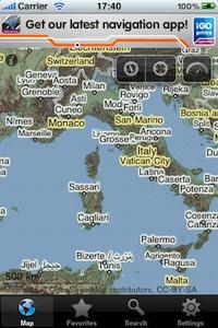 europe offline map