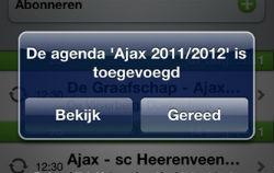 Eredivisie Speelschema iPhone iPod touch