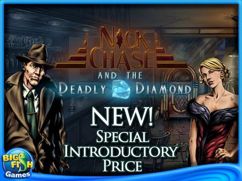 Nick Chase deadly diamond iPad game