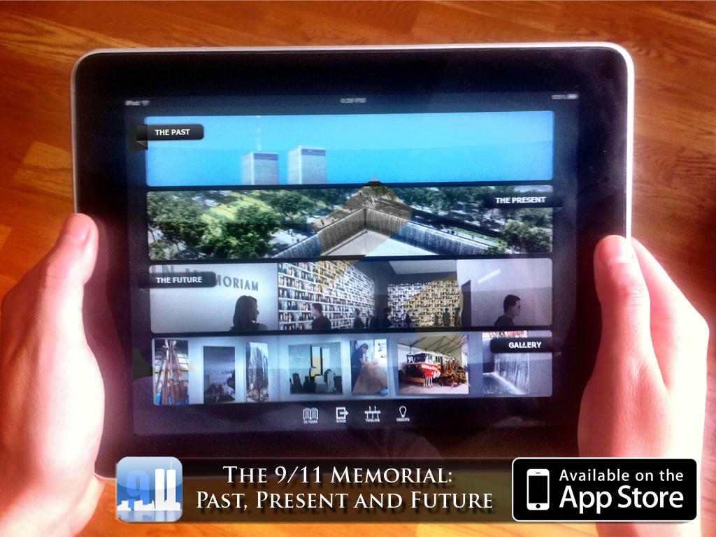 The 9-11 Memorial App voor iPad