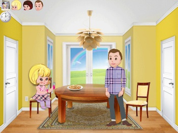 dolls house ipad