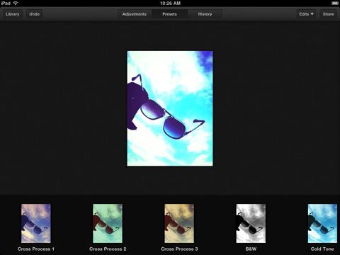 Luminance iPad filter kiezen