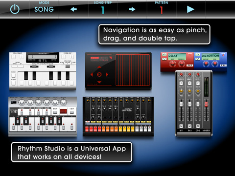 Rhythm Studio widgets