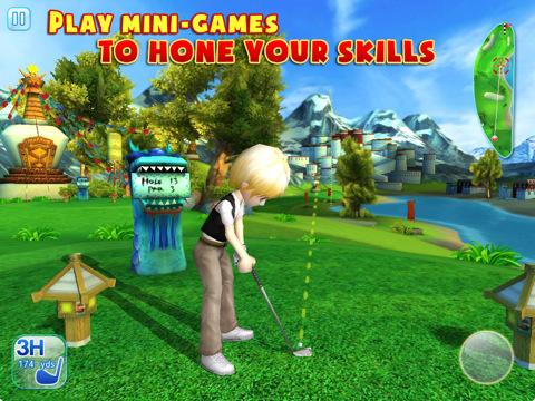 Let's Golf 3 voor de iPad minigames