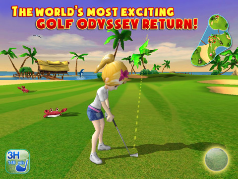 Let's Golf 3 iPad header