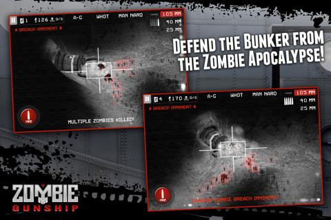 Zombie Gunship iPad screenshots
