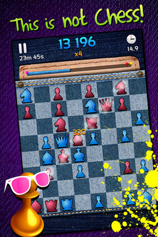 GU WO Hipster Chess iPhone iPod touch