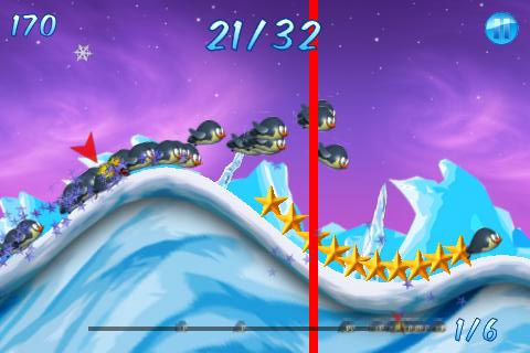 GU WO Tiny Wings kloon Polar Coaster iPhone iPod touch