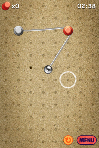 GU DI Pin & Ball iPhone iPod touch
