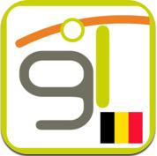 Geolives Belgium iPhone app wandelroutes