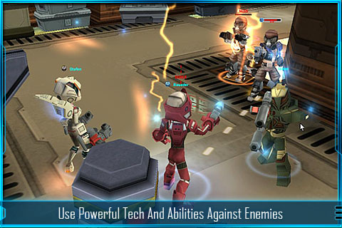 GU MA Star Legends 3D MMO iPhone iPod touch