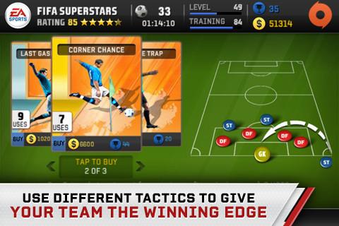 FIFA Superstars tactieken spelen