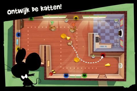 Spy Mouse: in je zoektocht naar kaas kom je de nodige obstakels tegen.