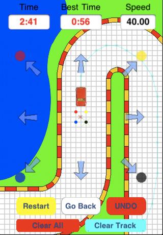 GU WO Paper Racing wiskunde racen