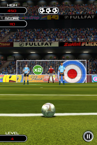 GU VR Flick Soccer iPhone iPod touch