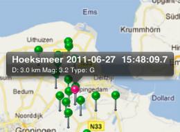 NL Beeft aardbevingen in Nederland iPhone iPod