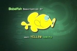 babelfish hitchhiker