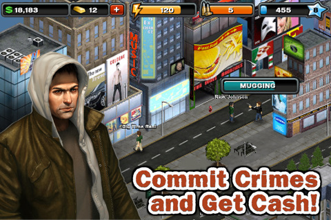 GU WO Crime City iPhone iPod touch