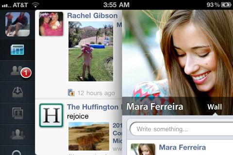 MyPad for Facebook voor iPhone header