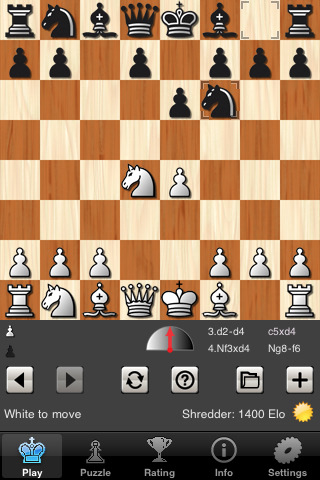 Shredder Chess voor iPhone