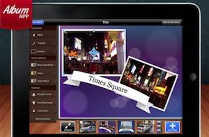 Album App voor iPad fotoalbum maken