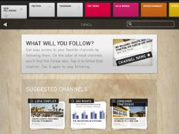 Evri voor iPad sociale nieuwslezer