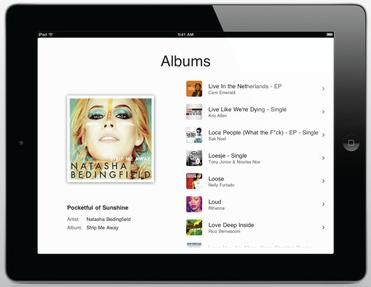 Play it iPad app header