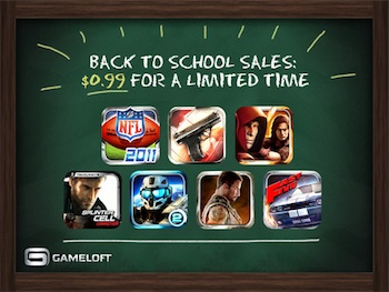 back to school gameloft