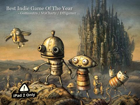 Machinarium iPad 2 adventure game