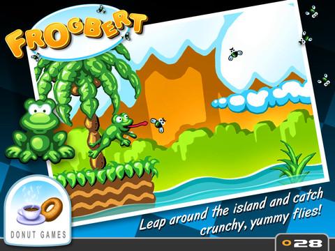 Frogbert voor iPad en iPod touch