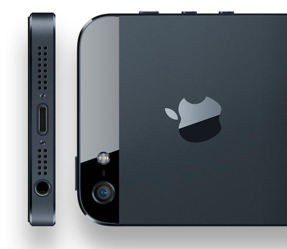 iPhone 5 alle kanten