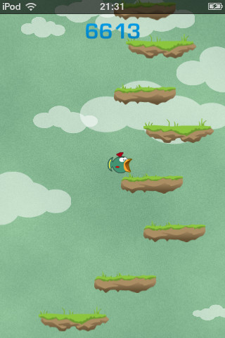 Tiny Wings Jump iPhone iPod touch