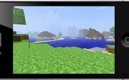 GU DI Minecraft voor iPhone iPod touch