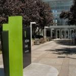 Apple's hoofdkantoor aan Infinite Loop in Cupertino