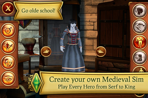 GU VR The Sims Medieval iPhone iPod touch
