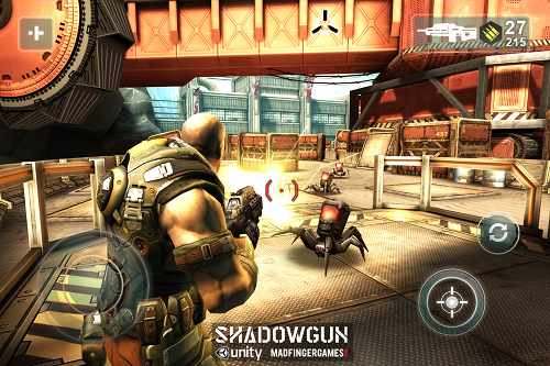 GU VR Shadowgun iPhone iPod touch