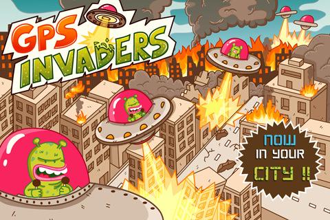 GPS Invaders