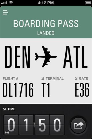 Flight Card geland