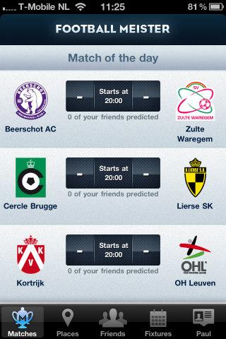 Football Meister Jupiler Pro League