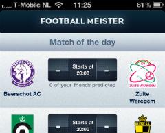 Football Meister Jupiler Pro League header
