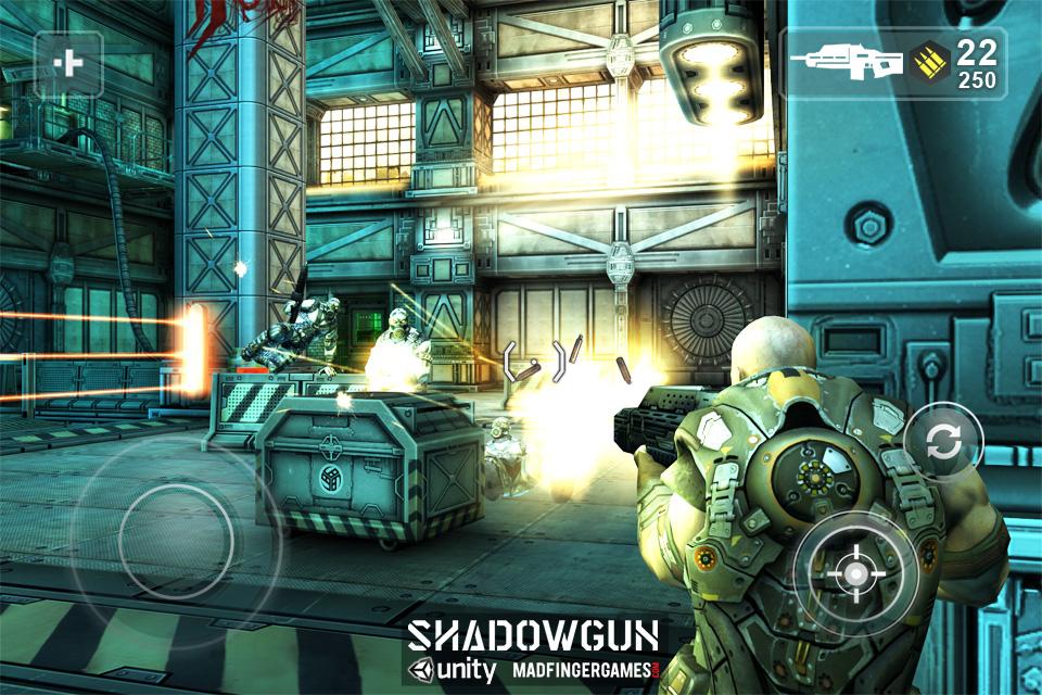 GU WO Shadowgun iPhone iPod touch