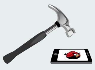 Angry Birds resultaten header