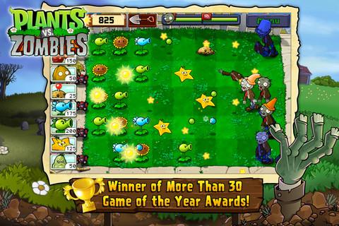 Plants vs Zombies update minigames