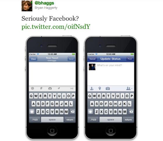 Twitter vindt dat Facebook kopieert deel 1