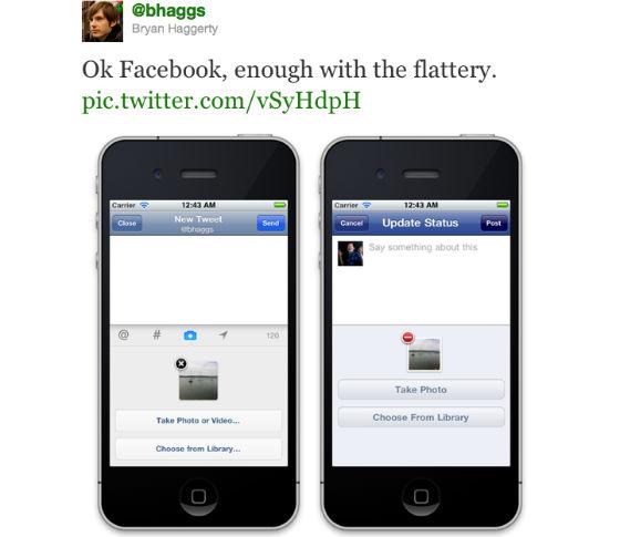 Twitter vindt dat Facebook haar kopieert 2