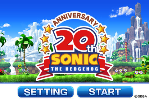 Sonic 20th voor iPhone iPod touch