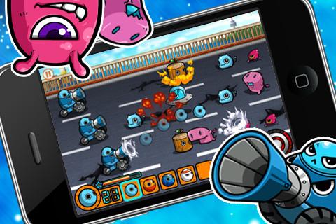 GU DI Alien Raid iPhone iPod touch