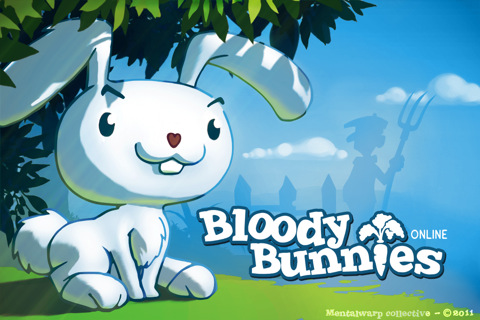 GU MA Bloody Bunnies iPhone iPod touch header