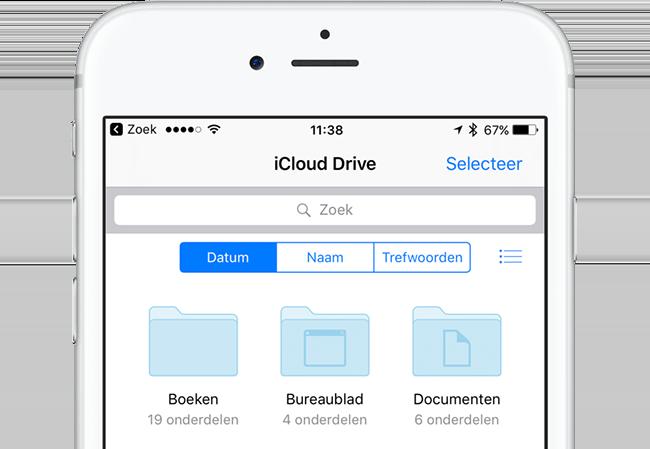iCloud Drive-app