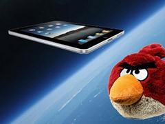 ipad angry birds iss